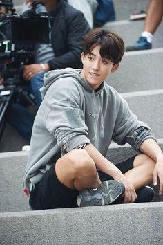 Nam Joo Hyuk in Weightlifting Fairy Kim Bok Joo 💕 Lee Hyun Woo, Lee Sung Kyung, Sung Kang, Nam Joo Hyuk Smile, Nam Joo Hyuk Cute, Nam Joo Hyuk Abs, Nam Joo Hyuk Tumblr, Asian Actors, Korean Actors