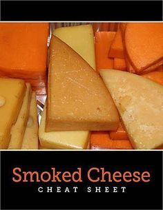 How to Smoke Cheese on a Barbecue Smoker Lavern Gingerich If you've got a barbecue smoker, you should learn how to smoke cheese with it. Smoked cheese is a Traeger Recipes, Smoked Meat Recipes, Cheese Recipes, Grilling Recipes, Smoked Pork, Venison Recipes, Rib Recipes, Recipies, Smoke Cheese Recipe