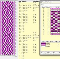18 tarjetas, 3 colores, repite dibujo cada 20 movimientos // sed_144༺❁