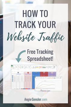 Looking for a free, fast, and simple method to track your website traffic and social media metrics? Download the free spreadsheet to track your results, monitor your growth, and revise your strategy! angiegensler.com