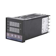 AGPtek Pressure /& Vacuum Gauges Universal Digital PID Temperature Controller RNR