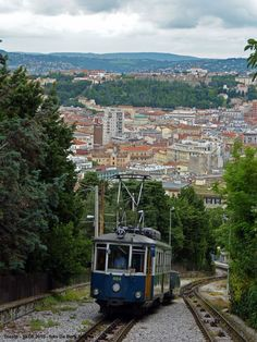 The Opicina Tramway (Italian: Tranvia di Opicina, Slovene: openski tramvaj, Triestine: Tram de Opcina) is an unusual hybrid tramway and funicular railway in the city of Trieste, Italy