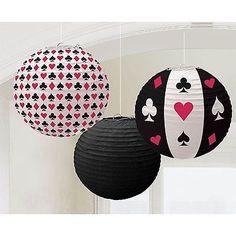 casino party deko