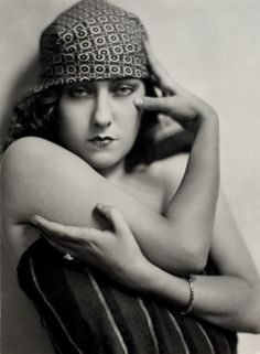 Gloria Swanson by Nickolas Muray, about 1925. Gloria Swanson was one of the greatest stars of the silent film era.