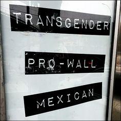 Transgender, Pro-Wall, Mexican Voter Politics – Fixtures Close Up