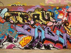 nice Trav Saber Risk Aroe Zes MSK AWR LTS WCA HA SeventhLetter LosAngeles Graffiti Art