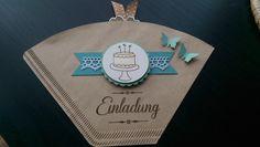 Einladungen - Karte, Einladung, Einladung zum Kaffee - ein Designerstück von Mein-Kreativpoint bei DaWanda