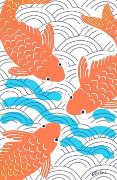 Barbara Perrine Chu-- Lucky Fish