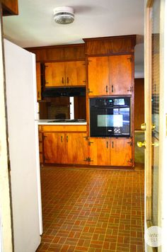 1960s Kitchens flip house 1960s kitchen before and after. a major kitchen