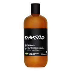 Beautiful Shower Gel: A blend of warming and exotic myrrh resinoid brings a sensual musk to the sunny perfume of fresh peach juice and dried apricots, and feels sensationally soft on the skin.