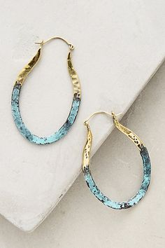 Detta Hoops #anthropologie Just ordered these - SO excited to get them!!