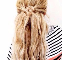 Knotted hair