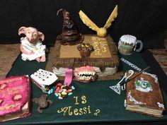 Harry Potter  cake  per Alessia