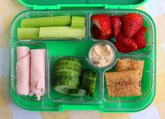 bento box for baby. lots of pics for toddler food ideas.