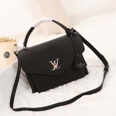 Lançamento Réplica de Bolsa Louis Vuitton My Lockme Black - Top Premium 8ac961ebf7c