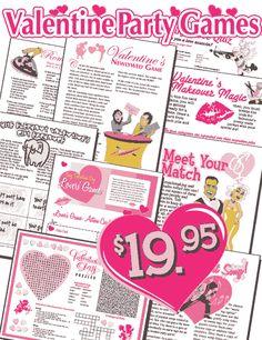 st. valentine's day bingo
