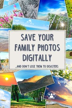 Your photo memories are precious, and you shouldn't worry about losing them to a natural weather disaster or evacuation. Learn to save them digitally to preserve a digital copy for your Family Emergency Binder. Mom with a PREP shows you all the options!