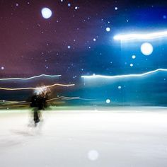 Camera captured a space ninja sprinting in the outer space! #funshot #heavysnow #snow #wilsonhophotography #toronto #slowshutterwithflash #running #outerspace #torontolife #insta_toronto #ninja #motion #sprinting #space #snowflakes #canadianwinter #flash  / www.wilsonhophotography.com Canadian Winter, Toronto Life, Fun Shots, Outer Space, Street Photography, Ninja, Snowflakes, Northern Lights, Running