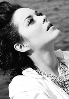 Marion Cotillard. You could say I'm completely enthralled with everything she is.