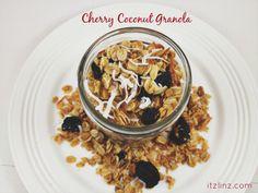 Cherry Coconut Granola Recipe