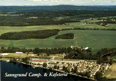 Hedmark fylke Sør-Odal kommune Skarnes Sanngrund Camp. & Kafeteria. Utg Normann Vineyard, Dolores Park, Travel, Outdoor, Viajes, Outdoors, Destinations, Vineyard Vines, Traveling
