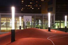 playscapes: 3-D Basketball Court, Inges Idee, Munich Germany, 2006