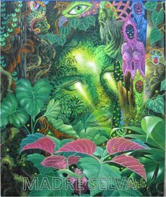 """""""Madre Selva"""" By Felix Pinchi Aguirre"""