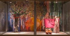 Spring Window Displays Visual Merchandising Arts, School of Fashion at Seneca College.