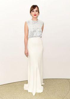 Dakota Johnson looking stunning in Dior