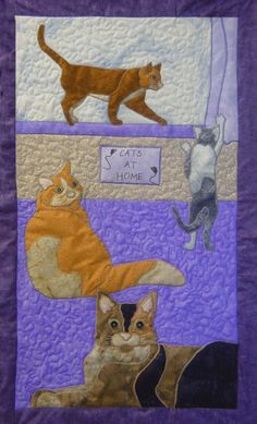 Cats by Tracey Campbell at Top of the Range Designs