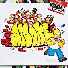 Graffiti Lettering Alphabet, Graffiti Writing, Graffiti Font, Urban Graffiti, Graffiti Designs, Street Graffiti, Graffiti Styles, Graffiti Caps, Graffiti Piece