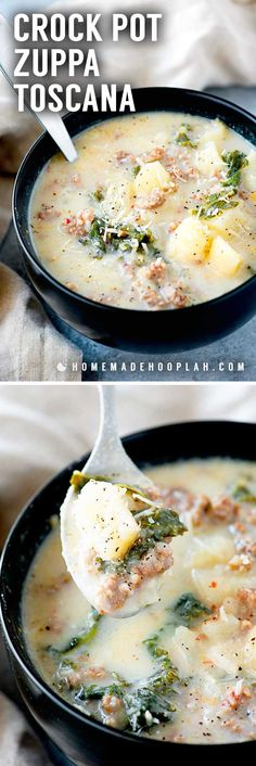 Personalized Graduation Gifts - Ideas To Pick Low Cost Graduation Offers Crock Pot Zuppa Toscana This Crock Pot Zuppa Toscana Soup Is An Olive Garden Copycat Recipe That Makes It Easy To Bring The Taste Of Italy Home. An Easy Dinner For Busy Weekdays Crock Pot Slow Cooker, Crock Pot Cooking, Slow Cooker Recipes, Cooking Recipes, Healthy Recipes, Crock Pot Soup Recipes, Crock Pot Stew, Vegetable Soup Crock Pot, Crock Pot Potato Soup
