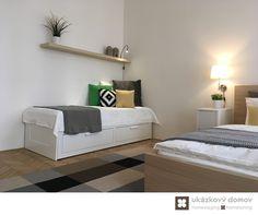 Decorating project for Airbnb apartment in Prague, Czech Republic #bedroom #airbnb #praha #czechrepublic #czech