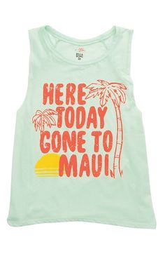 Billabong 'Rockin' Waves' Graphic Muscle Tee available at #Nordstrom