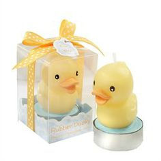 Rubber Ducky Candle - Baby Shower Favors