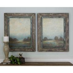 Uttermost Morning Vistas 2-Panel Framed Print