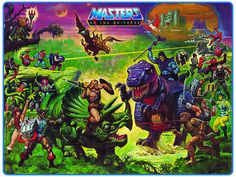 Masters Of The Universe Paintings By Earl Norem, William George and Esteban Maroto Cartoon Toys, Cartoon Characters, Man Wallpaper, She Ra Princess Of Power, Classic Paintings, Art Paintings, Universe Art, Cultura Pop, Anime