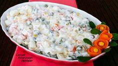 Rus Salatası Tarifi en nefis nasıl yapılır? Kendi yaptığımız Rus Salatası Tarifi'nin malzemeleri, kolay resimli anlatımı ve detaylı yapılışını bu yazımızda okuyabilirsiniz. Aşçımız: Lezzet Pınarından Damlalar