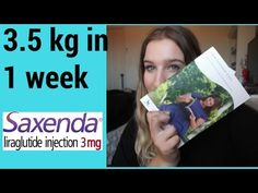 Saxenda First Impressions + 2 week review - YouTube