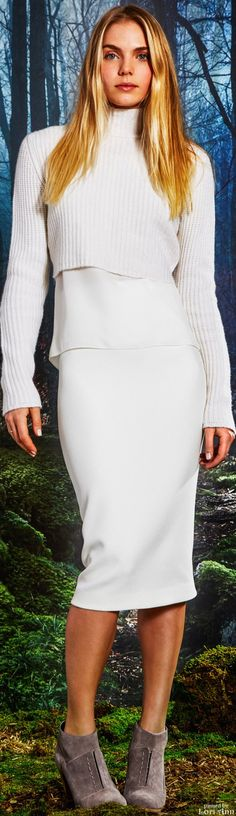 Elie Tahari Fall 2015 RTW if you can find...Fabulous investment sweater dress