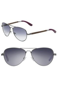 TOMS Sunglasses. These look pretty cool. I may have to check them out at Nordstroms. And every pair purchased helps someone in need.