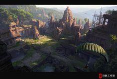 some level pics for last battleground survival , Dawnpu at Art vision studio on ArtStation at https://www.artstation.com/artwork/5DN9J