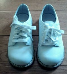 Girls/Boys Size 7D Toddler Willits White Leather Walking/Dress/Saddle Shoes  #Willits #WalkingShoes