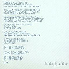 Il Re del Borgo.  #poesia #poem #poetry #pensieri #parole #marsure #italia