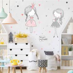 Nálepky na stenu - hviezdičky a oblaky | INSPIO Gris Rose, Stickers, Decals, New Homes, Pastel, Kids Rugs, Home Decor, Bedroom, Living Room
