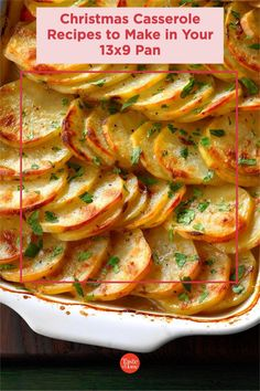 25 Christmas Casserole Recipes to Make in Your 13x9 Pan