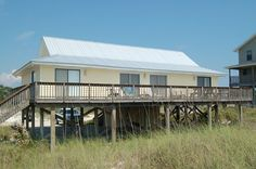 Snyder House - Gulf Front Vacation Rental that sleeps 9 ~ Cape San Blas Vacation Rentals, Inc.