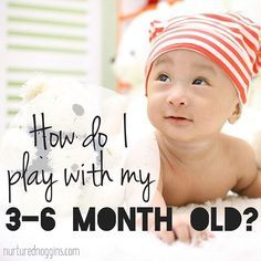 12 activities for you and your 3-6 month old to enjoy together ❤️❤️ Link in bio…