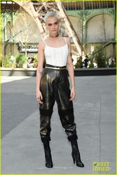 Katy Perry Joins Kristen Stewart & Julianne Moore at Chanel Show in Paris