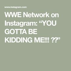 "WWE Network on Instagram: ""YOU GOTTA BE KIDDING ME!!! 😱😱"" Undertaker, Wwe, Kids, Instagram, Young Children, Boys, Children, Boy Babies, Child"